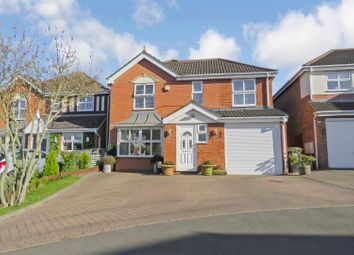 Thumbnail 4 bed detached house for sale in Montgomery Avenue, Meppershall, Shefford