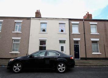 Thumbnail 3 bedroom terraced house for sale in Zetland Street, Darlington