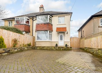 Thumbnail 3 bedroom semi-detached house for sale in Bradley Road, Huddersfield, West Yorkshire