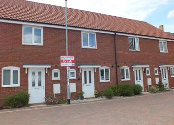 Thumbnail 2 bedroom terraced house for sale in Crocus Close, Eynesbury, St. Neots