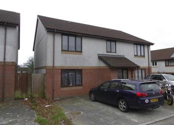 Thumbnail 2 bed flat for sale in Callington, Cornwall