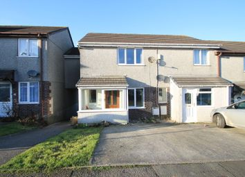 Thumbnail 3 bed semi-detached house for sale in Higher Town Park, Landrake, Saltash
