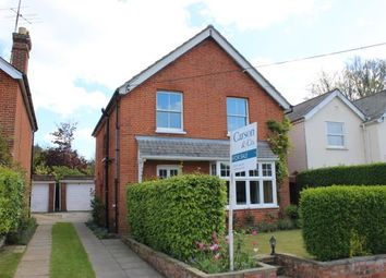 Thumbnail 3 bedroom detached house for sale in Windlesham, Surrey