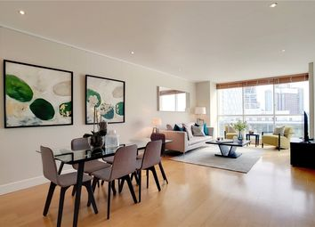Thumbnail 2 bed flat for sale in Belgrave Court, Canary Riverside, Westferry Circus, London