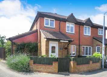 Thumbnail 3 bed semi-detached house for sale in Chaucer Drive, Biggleswade