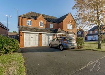 Thumbnail 5 bed detached house for sale in Paddock Close, Mansfield