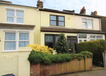 Thumbnail 3 bed terraced house for sale in Wakering Avenue, Southend-On-Sea