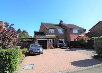 Thumbnail 3 bed semi-detached house for sale in Duke Street, Hintlesham, Ipswich, Suffolk