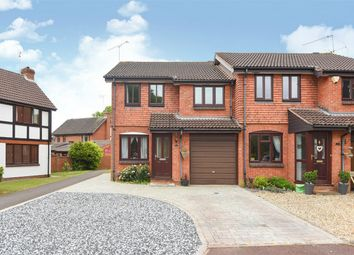 Thumbnail 3 bed semi-detached house for sale in Medway Close, Wokingham, Berkshire