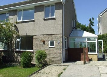 Thumbnail 3 bed semi-detached house to rent in Priors Way, Swansea