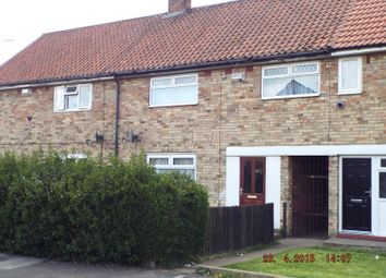 Thumbnail 3 bedroom terraced house to rent in Halliwell Close, Hull