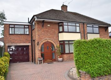 Thumbnail 3 bed semi-detached house for sale in Cherry Tree Close, Trentham, Stoke-On-Trent