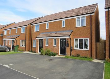 Thumbnail 3 bed semi-detached house for sale in Buttercream Drive, Woodston, Peterborough