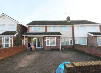 Thumbnail 5 bed semi-detached house for sale in Woodland Place, Bridgend, Glamorgan