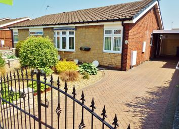 Thumbnail 2 bed semi-detached bungalow for sale in Craithie Road, Carlton-In-Lindrick, Worksop