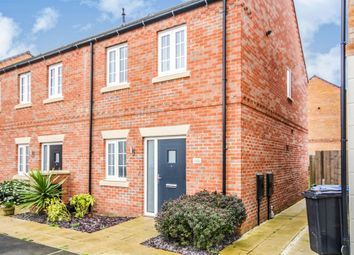 Thumbnail 2 bedroom end terrace house for sale in Angell Drive, Market Harborough