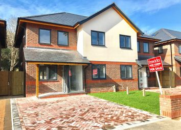 Thumbnail 4 bed semi-detached house for sale in St. Nicholas Avenue, Gosport