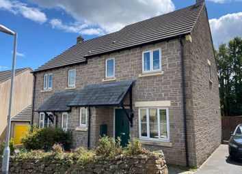 Thumbnail 3 bed semi-detached house to rent in Greenfinch Crescent, Pillmere, Saltash