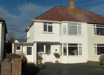 Thumbnail 3 bed semi-detached house for sale in Napier Gardens, Cardigan