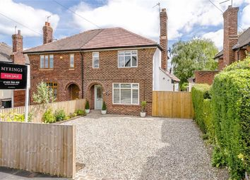 Thumbnail 3 bed semi-detached house for sale in Woodlands Road, Harrogate, North Yorkshire
