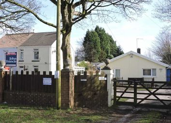 Thumbnail 5 bed detached bungalow for sale in Llangyfelach Road, Tirdeunaw, Swansea