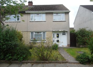 Thumbnail 3 bedroom semi-detached house for sale in Penmaen Walk, Michaelston-Super-Ely, Cardiff