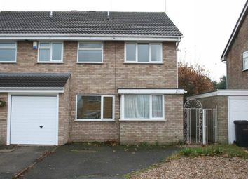 Thumbnail 3 bed property to rent in Warwick Gardens, Hinckley, Leicestershire