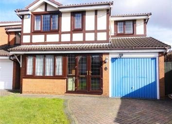 Thumbnail 4 bed detached house to rent in Willingworth Close, Bilston