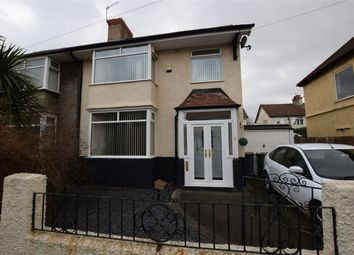 Thumbnail 3 bed semi-detached house for sale in Ben Nevis Road, Tranmere, Merseyside