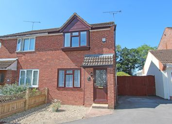 Thumbnail 2 bed semi-detached house for sale in Oak Crescent, Willand