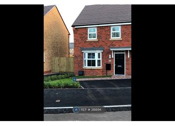 Thumbnail 3 bedroom semi-detached house to rent in Dewsbury Crescent, Stafford