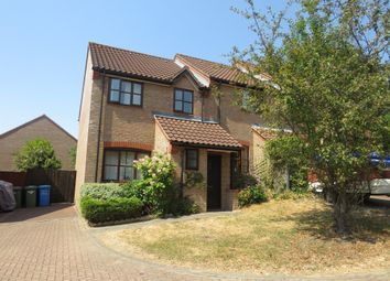 Thumbnail 3 bed end terrace house for sale in Airedale Close, Norwich