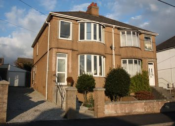 Thumbnail 3 bed semi-detached house to rent in Molesworth Road, Plymouth