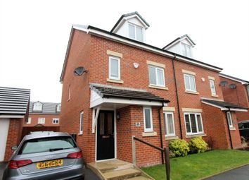 Thumbnail 4 bed semi-detached house to rent in Cotton Fields, Walkden, Manchester