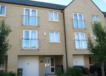 Thumbnail 4 bed town house to rent in Skipper Way, Little Paxton