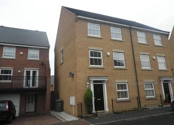 Thumbnail 4 bed town house to rent in Buckthorn Road, Hampton Hargate, Peterborough