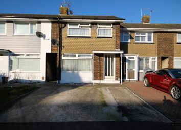 Thumbnail 3 bed terraced house for sale in Greentrees Crescent, Sompting, Lancing