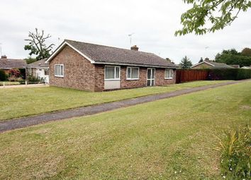 Thumbnail 3 bedroom detached bungalow to rent in Maltings Close, Moulton, Newmarket