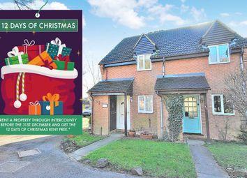 Thumbnail 2 bed property to rent in Ellenborough Close, Bishops Stortford, Hertfordshire