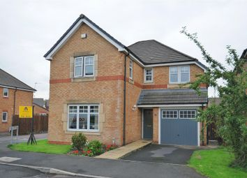 Thumbnail 4 bed detached house for sale in Bluebell Way, Huncoat, Accrington