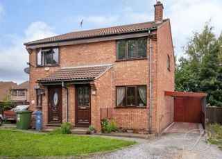 Thumbnail 2 bed semi-detached house to rent in Glebe View, Mansfield