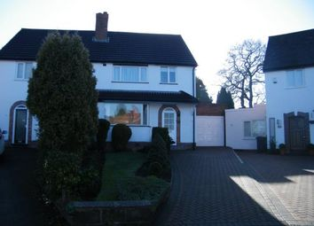Thumbnail 3 bed semi-detached house for sale in Southwold Avenue, Birmingham, West Midlands