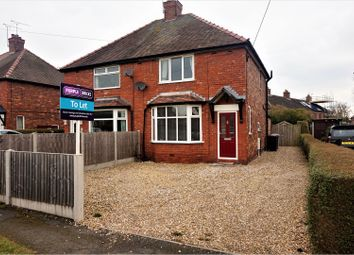 Thumbnail 2 bed semi-detached house to rent in Green Lane, Wistaston