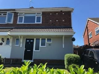 Thumbnail 3 bed semi-detached house to rent in Thornby Avenue, Wilnecote, Tamworth