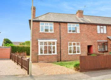 Thumbnail 3 bed end terrace house for sale in Harcourt Road, Wigston, Leicester