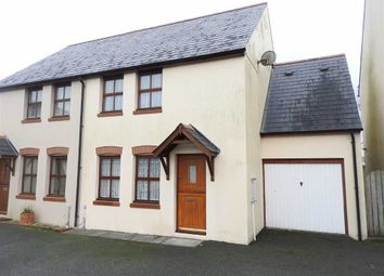 Thumbnail 4 bedroom semi-detached house for sale in Heol Ty Newydd, Cilgerran, Cilgerran