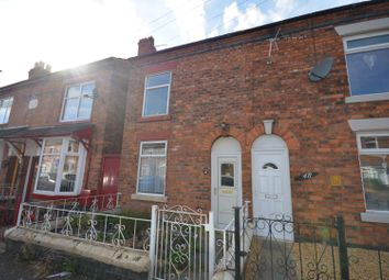 Thumbnail 2 bed end terrace house to rent in Minshull New Road, Crewe