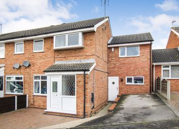 Thumbnail 4 bed semi-detached house for sale in Windsor Close, Swanwick, Alfreton