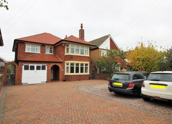 Thumbnail 4 bedroom detached house for sale in Newton Drive, Blackpool