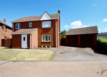 Thumbnail 4 bed detached house for sale in Abbotts Grove, Werrington, Peterborough